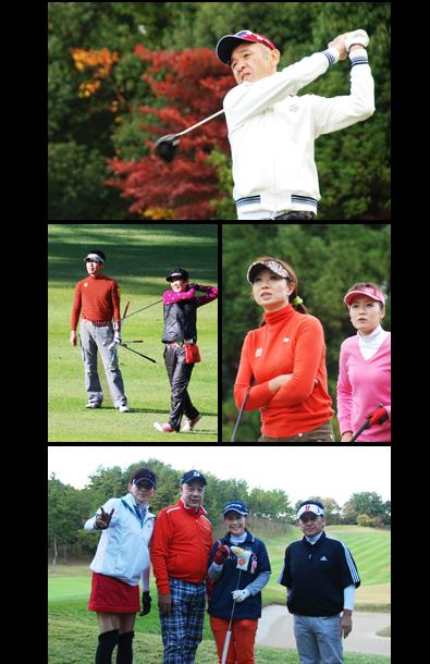 ゴルフプレー写真